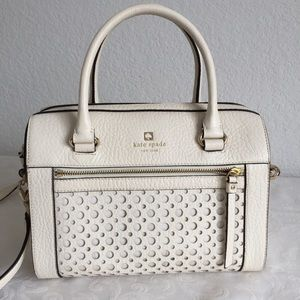 Kate Spade New York Perri Lane Leather bag. Ivory
